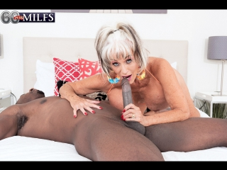 #pron sally d`angelo - more big, black cock for super-stacked sally