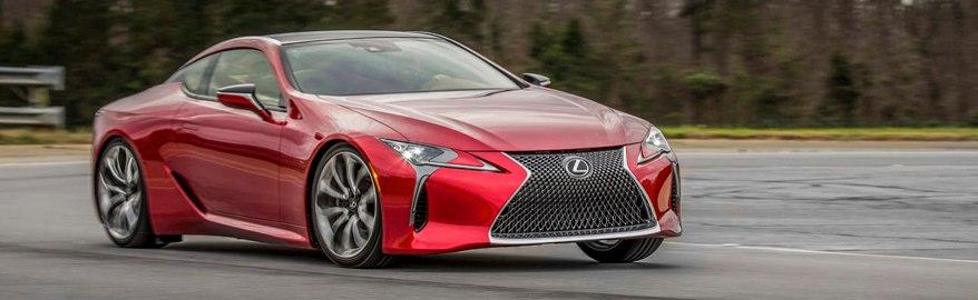 Тест-драйв и обзор Lexus LC500