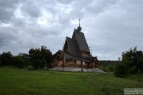 09 июля 2017 - Самарская область: Заволжский мужской монастырь в честь Честного и Животворящего Креста Господня