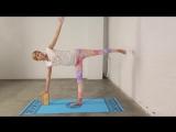 Йога для начинающих. Проработка асан стоя в динамике