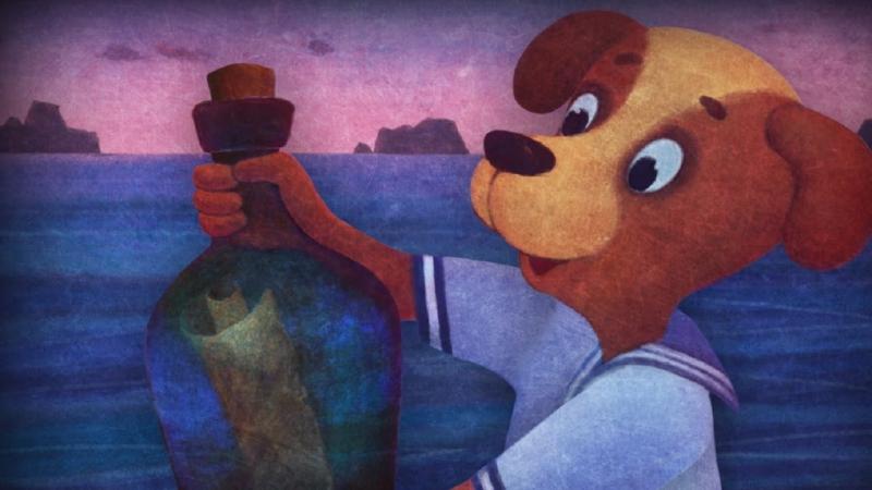 Волшебный фонарь - Детки капитана Гранта - серия 17 - классическая литература для детей