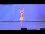 Вариация Феи щебечущей канарейки из балета Спящая красавица