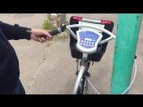 Как снять велосипед с троса