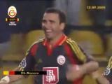 Gheorghe Hagi (Galatasaray) - мяч в ворота AS Monaco, 2000 год.