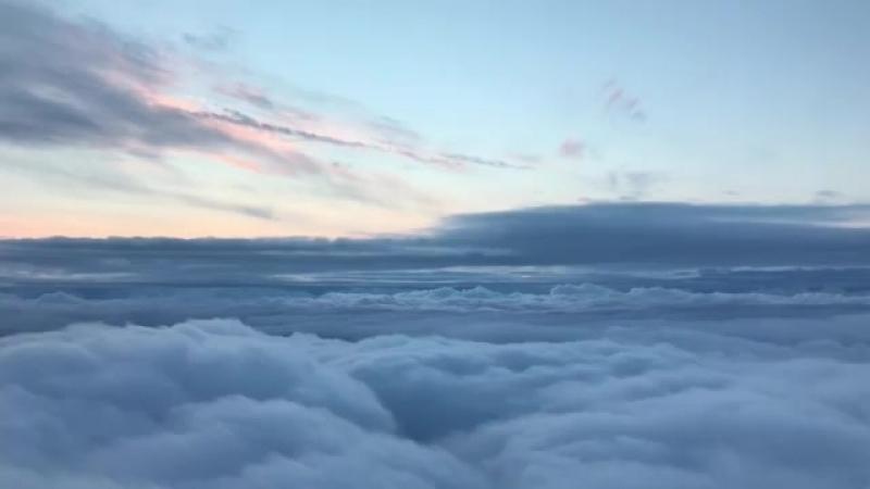 Утрений каиф над облаками