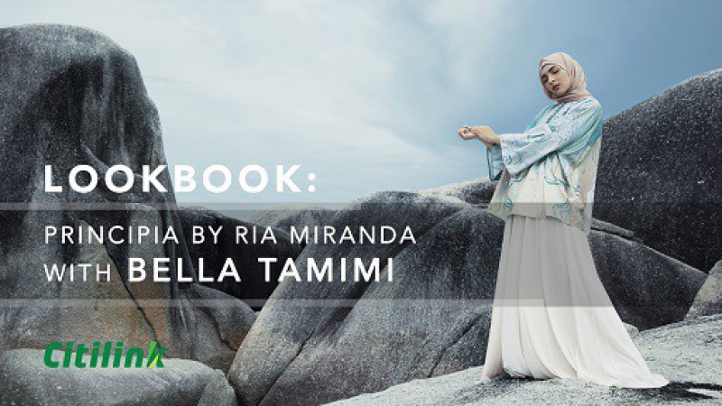 Fashion Lookbook Principia by Ria Miranda with Bella Tamimi