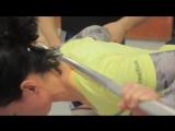 Тяжелая атлетика для начинающих. Как закачать спину. Рывок #1 - ARMA Sport