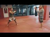 Сила и скорость удара рук или парная работа с медболом от Андрея Басынина