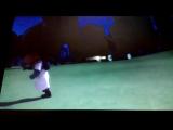 Рамео бегает за Ночным нинзей и нинзя лино!