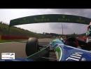 Exclusive Onboard Mick Schumachers Demo Lap in his fathers Benetton F1 operated by RENNWERK