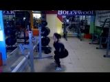 Лиза Богатырёва. Самые эффективные упражнения для ног и ягодиц!!! Часть первая.