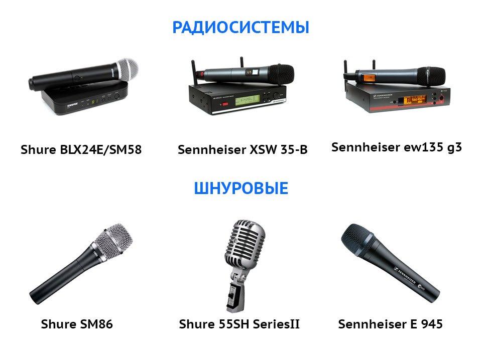 Аренда звукового оборудования услуги в Сочи