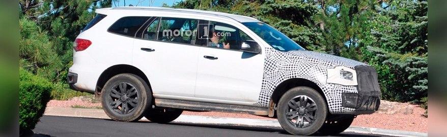 В Сеть попали шпионские фото возрожденного Ford Bronco