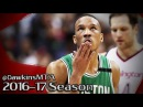 Avery Bradley Full Highlights 2017 ECSF Game 6 at Wizards - 27 Pts, 4 Stls!