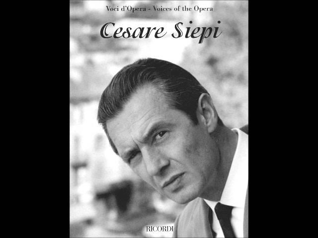 Cesare Siepi Il lacerato spirito LIVE 1950