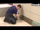 Облицовка ванной комнаты, видео инструкция выполнения работ с материалами Ceresit