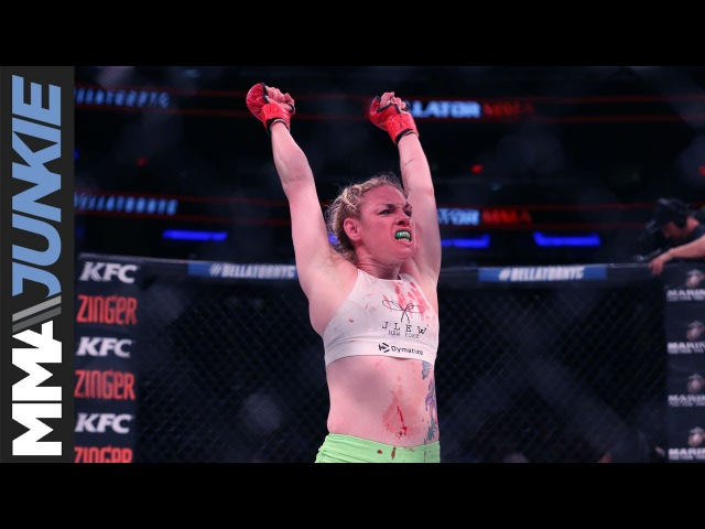 Heather Hardy on MMA debut win at Bellator 180 I think I just fell in love
