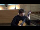 J. S. Bach Fuga from Suite BWV 997 by Patrik Kleemola, guitar