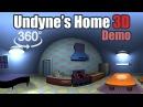 Undyne's House 3D 360: Undertale 360 Project 11