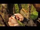 How to make a wooden ocarina in the forest / Как сделать деревянную окарину в лесу.