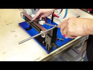1x30 Belt Sander Sharpener, AMK 75 Knife Sharpening System - 2016