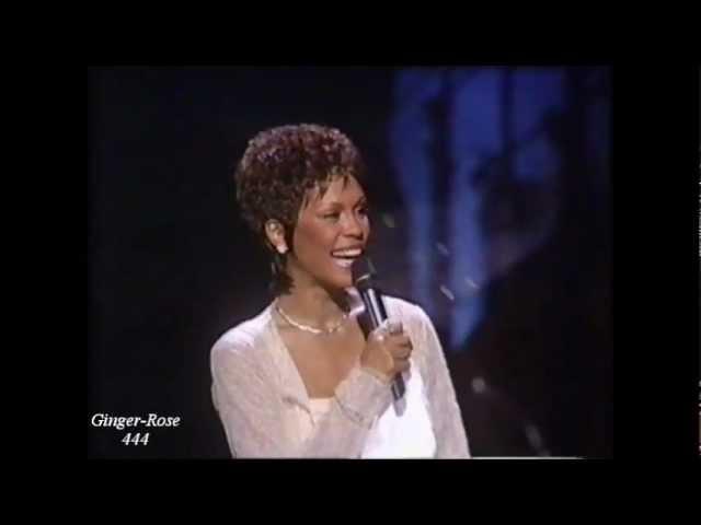 Whitney Houston Mr. Bojangles wLyrics (Tribute to Sammy Davis Jr.)
