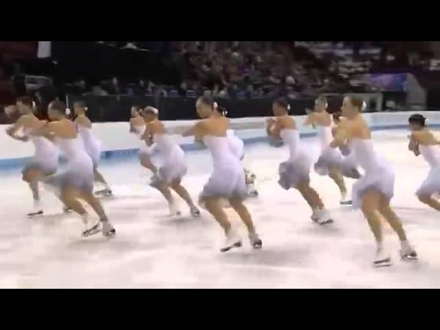 Когда эти 16 девушек вышли на лёд, я прилипла к экрану