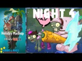 Plants vs. Zombies 2 - Holiday Mashup World by AB Fan 1000  - Night 4 (Player's Choice)