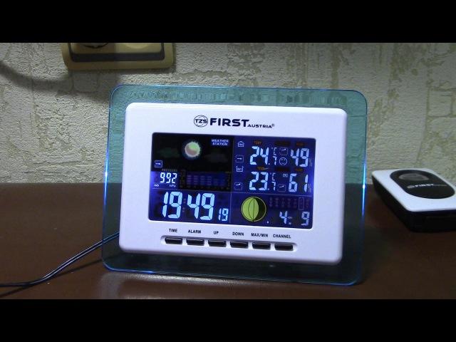 Домашняя метеостанция FIRST FA 2461 1