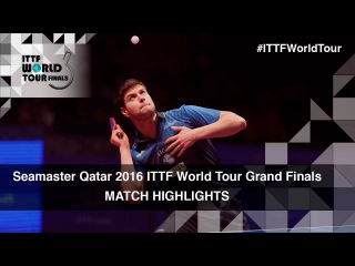 2016 World Tour Grand Finals Highlights: Dimitrij Ovtcharov vs Fan Zhendong (1/4)
