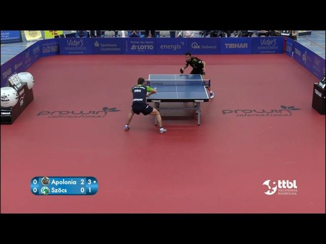 German League 16/17 - Tiago APOLONIA - Hunor SZÖCS