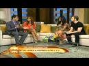 Eugenio Siller y Litzy en Levantate Entrevista y Cantando Amor sin final