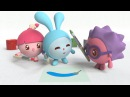 Малышарики - Фиолетовый - Умные песенки Учим цвета музыкальные мультики для самых маленьких