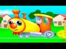 паровоз Букашка Веселая песенка для детей