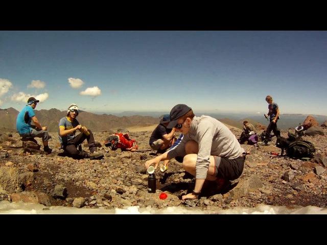 Восхождение на Эльбрус с севера.. Июль 2016 года.