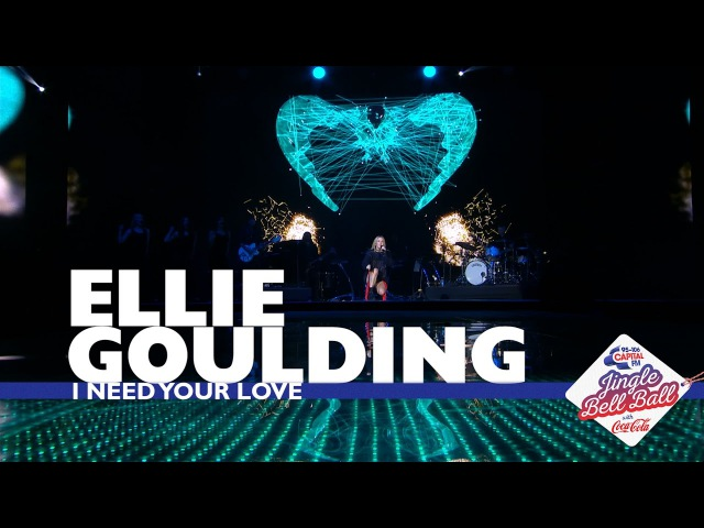 Ellie Gouding 'I Need Your Love' Live At Capital's Jingle Bell Ball 2016