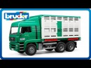 Bruder Toys MAN Cattle Transportation Truck with 1 Cow 02749