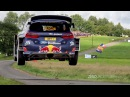 WRC Rally Deutschland 2017 | Big jumps many crashes