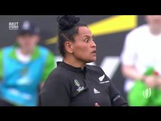 Предматчевый танец хака от женской сборной Новой Зеландии!