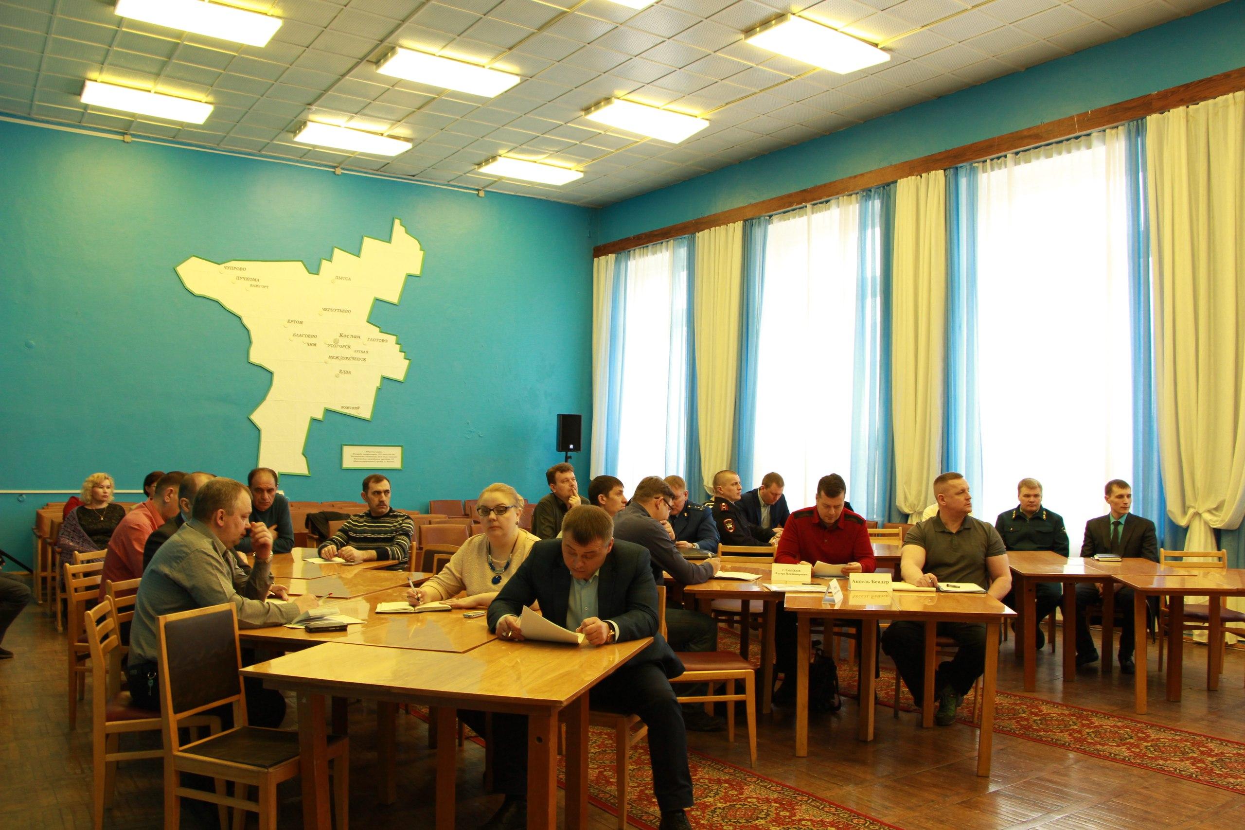 Министры Республики Коми на Удоре