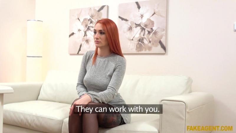 Luna Melba ( Redhead Prefers Cock Over Pussy) 2017, Casting, All Sex, HD