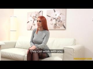 Luna melba (redhead prefers cock over pussy) [2017, casting, all sex, hd 1080p]