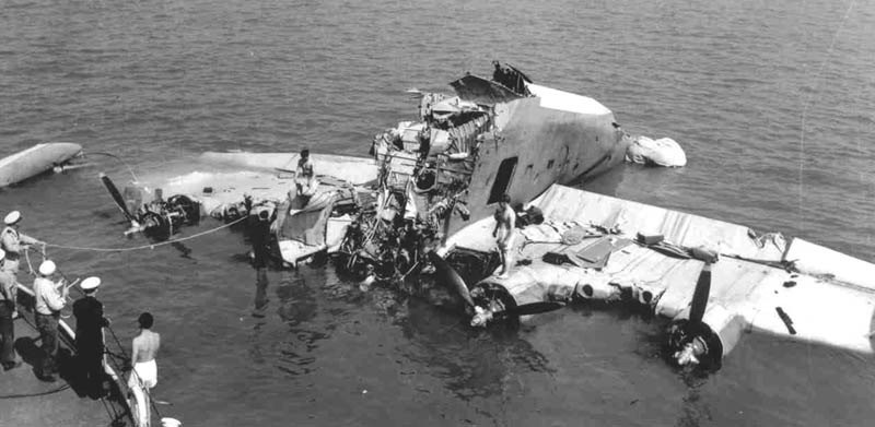 Обломки летающей лодки, едва не ставшей могилой адмирала Нимица - Когда противник ни при чём | Warspot.ru