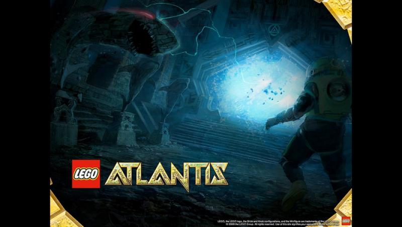 Лего Атлантида/Lego Atlantis