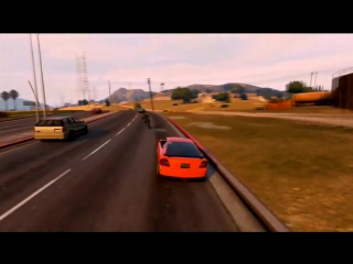 GTA 5 FAST AND FURIOUS DRAG RACE (DOM VS BRIAN) - Mrjksaw