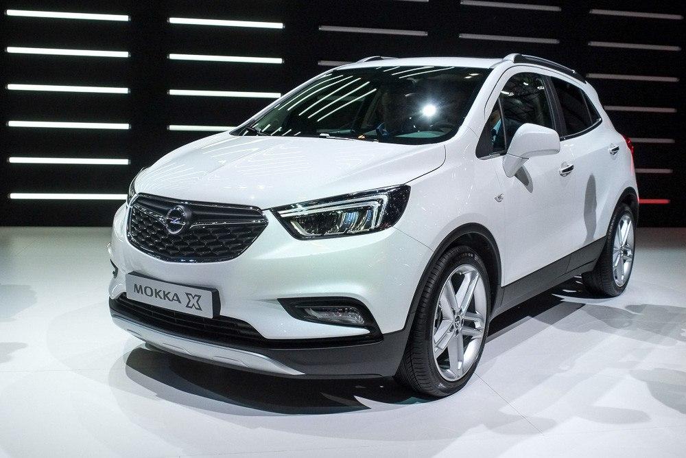Обновлённому Opel Mokka добавили букву Х