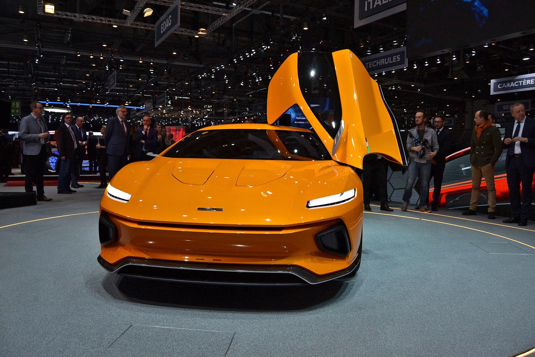 GTZero — очень красивый итальянский спорткар. Фото