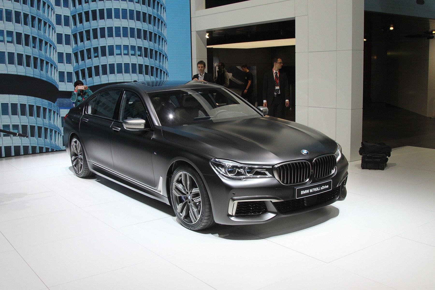 BMW 7-й серии стала «эмкой»