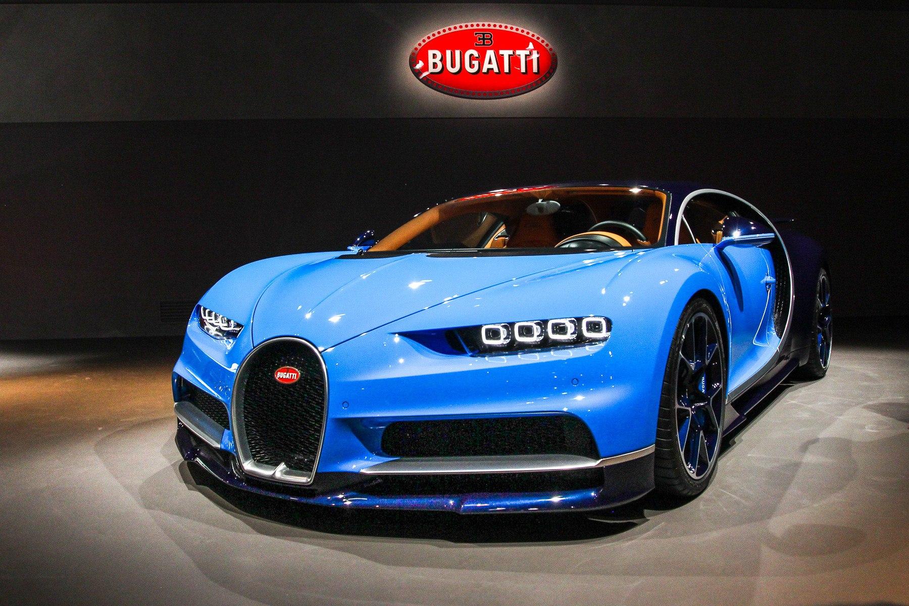 Новый Bugatti: его рисовал дизайнер из России