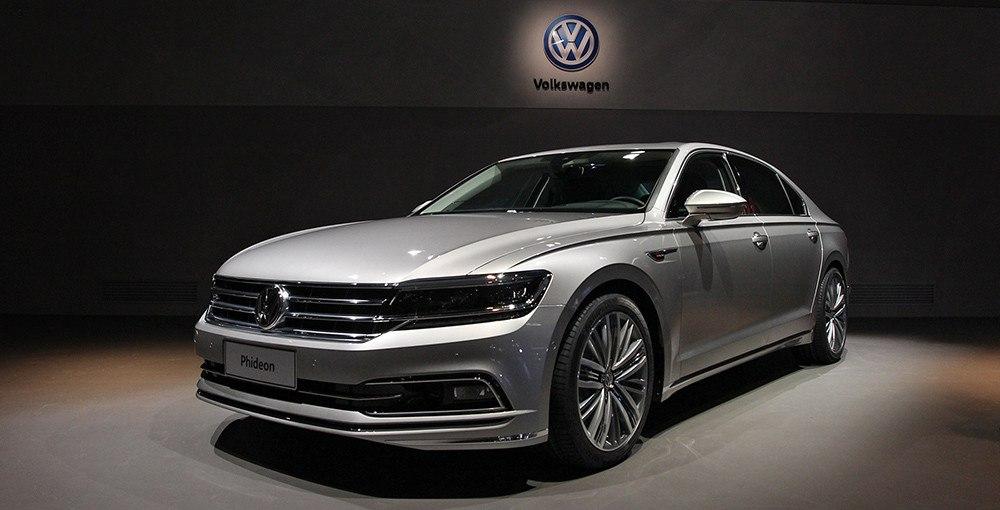 Новый большой Volkswagen: не Passat, но и не Phaeton